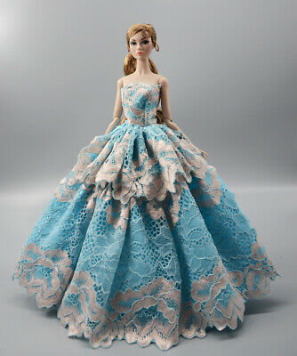 Fashion Princess Party Dress//Evening Clothes//Gown For 11.5 inch Doll b04