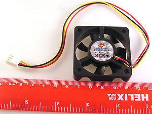 ventilador-CPU-12VDC-0-10A-50x50x12mm-24cm-3-Cables-Llevar-a-la-Molex-Enchufe