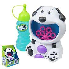 Dog Bubble Machine Blower Solution Birthday DJ Disco Party Bubbles Garden Toy