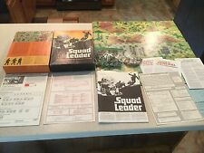 SQUAD LEADER -- THE GAME OF INFANTRY COMBAT IN WWII -- BOARD GAME -- AVALON HILL