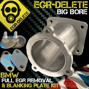 Details about BMW EGR DELETE 5 SERIES 520i 525d 530d 535d xd EGR REMOVAL  KIT BLANKING PLATE