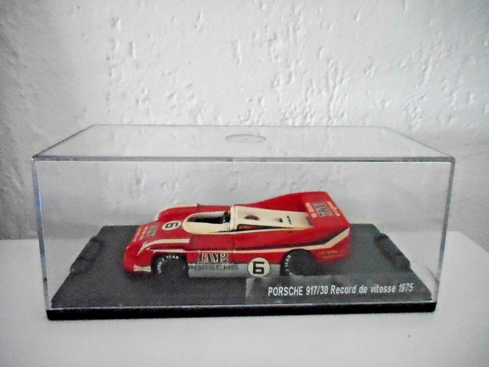 Rare  PORCHE 917 30 CAN AM RECORD DE VITESSE1975 IVES  EVRAT ELIGOR minichamps