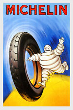 Automobile Tires Rubber Rudge Whitworth French Vintage Poster Repro FREE SHIP