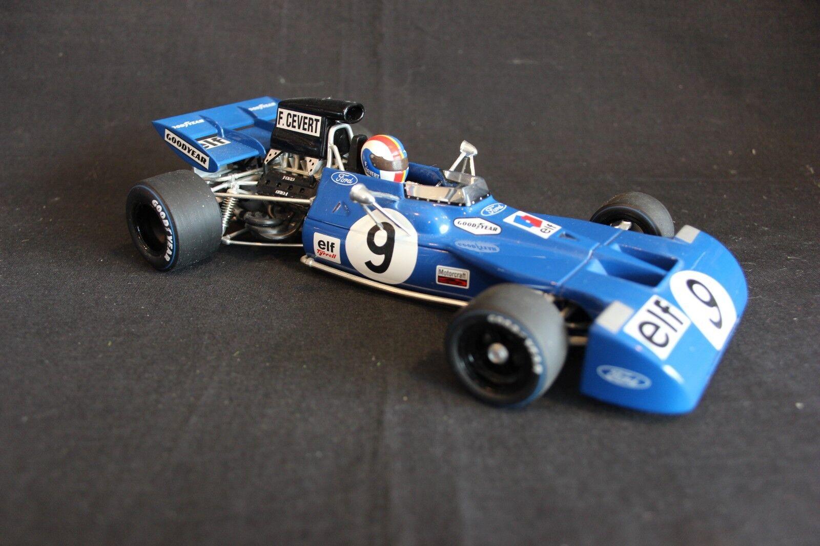 Minichamps Tyrrell Ford 003  1971 1 18  9 François Cevert (FRA) (AK)  juste l'acheter