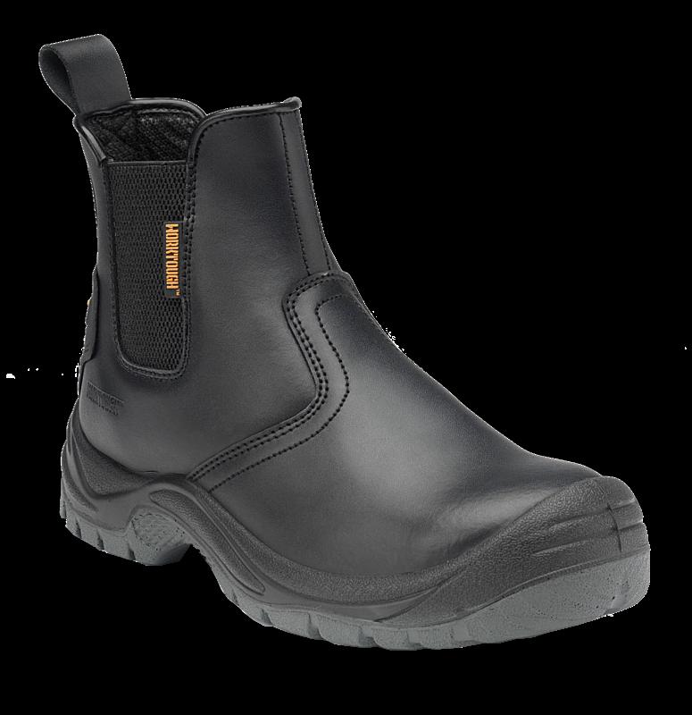 Worktough 812SM Safety Dealer Work Boots Black (Sizes 6-12) Mens Shoes
