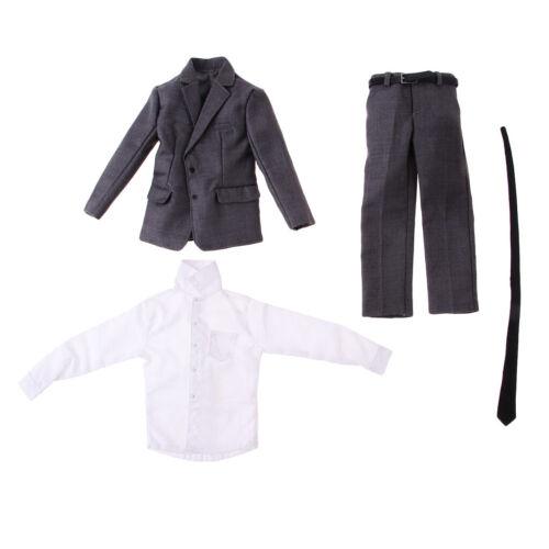 1//6 Échelle Homme Gentleman Costume pour 12/'/' Poupée Figure Action Hommes
