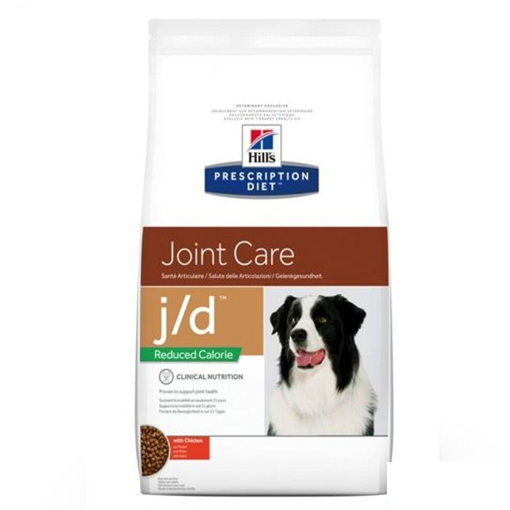 12kg Hill's Canine j d rotuced Calorie Joint Care Bravam Hund 052742613901