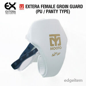 MOOTO EXTERA Female Groin Guard Panty Type (PU) WTF Approved Protector TKD