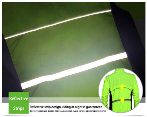 Tour de France Cycling Jacket Wind Coat Mens Bike Bicyle Sport Jersey Windproof