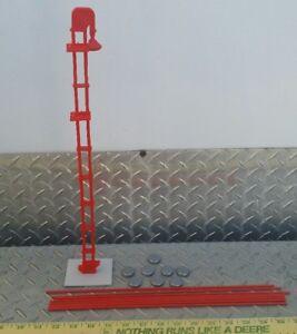 1/64 Orange Standi Toys Grain Leg Elevator & Bin Ertl Farm Toy Building display