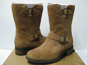 Image is loading Ugg-Chaney-Chestnut-Women-Boots-US10-UK8-5-