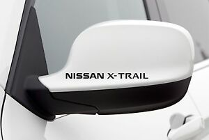 4x-Wing-Mirror-Stickers-fits-Nissan-X-trail-Car-Body-Decal-Vinyl-Adhesive-AL63