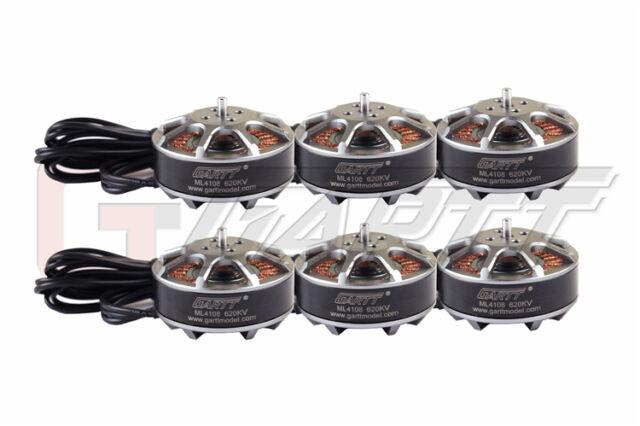 6 X GARTT ML 4108 620KV Brushless Motor For FPV Multi-rotor Quadcopter Drones