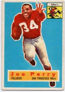 1956-Topps-110-Joe-Perry-VG-VGEX-San-Francisco-49ers-FREE-SHIPPING