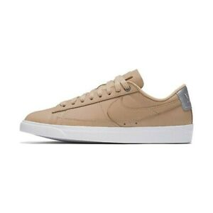 Women's Shoes Cooperative Uk 7 Women's Nike Blazer Low Se Prm Tan Trainers Eur 41 Us 9.5 Aa1557-200 Last Style