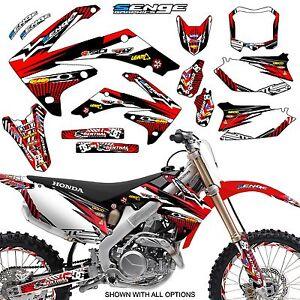 2004 2005 crf 250r graphics kit crf250r 250 r deco sticker decals 4 stroke senge ebay