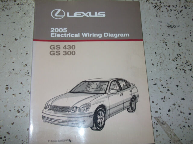 2005 Lexus Gs430 Gs300 Electrical Wiring Diagram Service