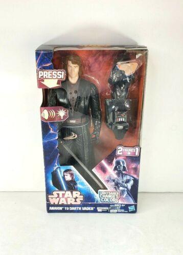 "2013/"" Star Wars Anakin pour Darth Vader 13/"" Inch Action Figure-Lights /& Sound New in Box"
