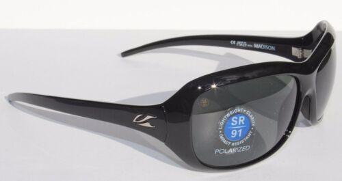 KAENON Madison Sunglasses POLARIZED Womens Black//G12 Gray NEW 214-01-G12 $219