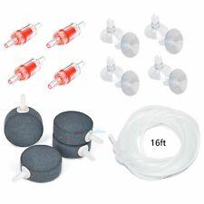 4 PCS Aquarium Air Stones Fish Tank Bubbler Hydroponics Oxygen Aerator 1.5? Disk