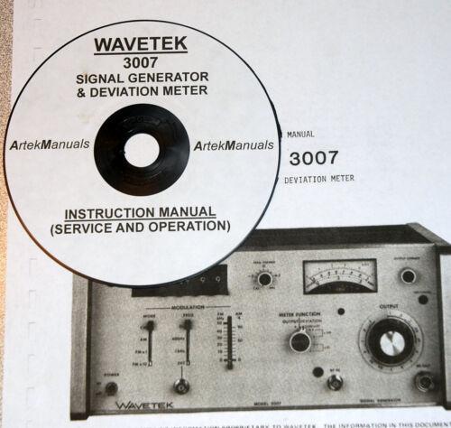 Business & Industrial WAVETEK 3007 Signal Genrator & Deviation ...