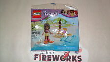 Lego Friends 30114 Andrea's Beach Summer Lounge minifigure New Sealed polybag