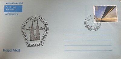 Luposta Köln1983 / 2.-5.6.83 Halten Sie Die Ganze Zeit Fit Aufrichtig British Post Office royal Mail