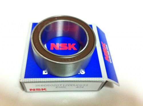 AC Compressor Clutch Bearing NSK JAPAN OEM 35BD5220 35x52x20