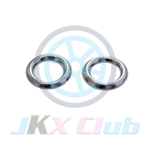 Chrome Front Fog Light FrameTrim j For Mitsubis RVR ASX Outlander Sport 2016-17