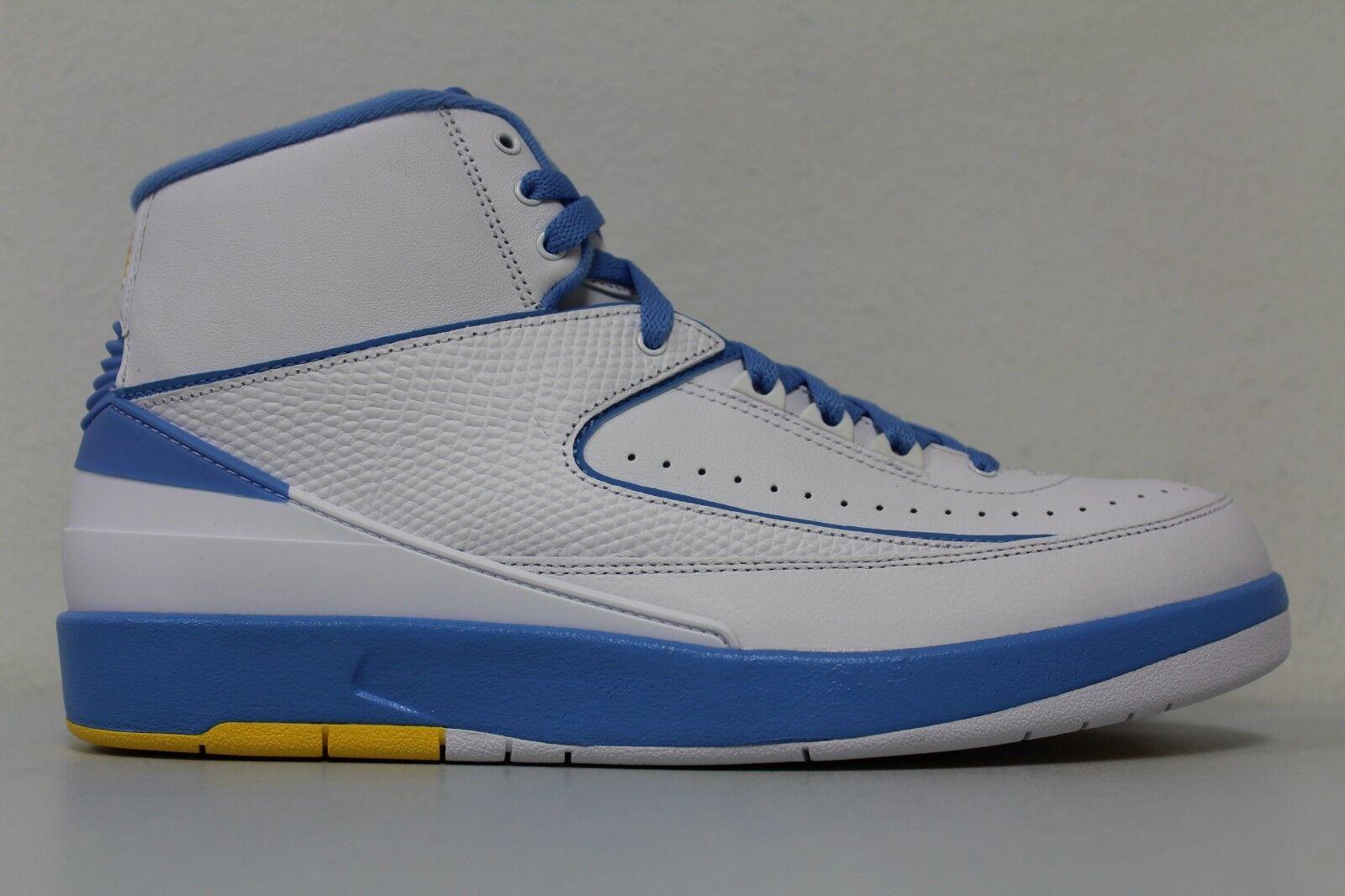 Nike air Uomo jordan 2 retrò melo Uomo air bianco blu 385475 università 122 dimensioni 10,5 b646df