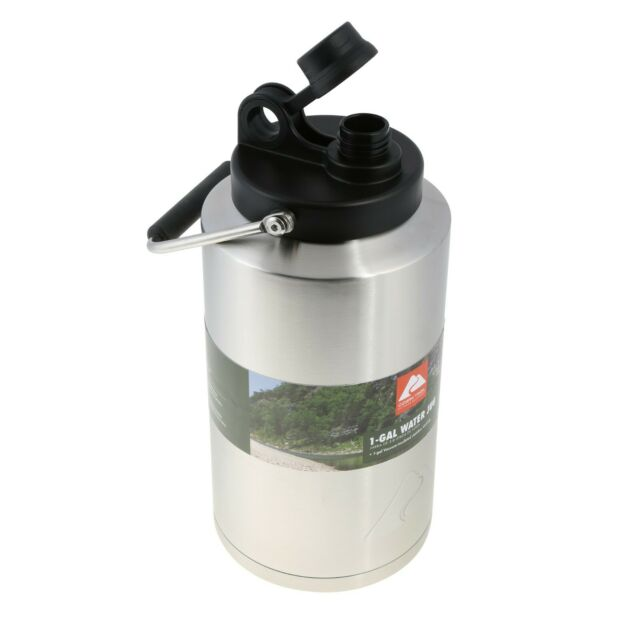 1 Gallon Water Jug Vacuum Sealed Eco Friendly Stainless Steel Double Wall Bottle