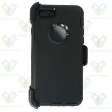 For IPhone 6 plus / 6S Plus Defender BLACK Case Cover [Belt Clip Fits Otterbox]