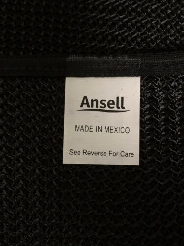 Lot of 4 Ansell 59801 CMS-9B Sleeve Protective Gear Cane Mesh Arm Protection