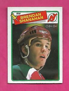 1988-89-OPC-122-DEVILS-BRENDAN-SHANAHAN-ROOKIE-EX-CARD-INV-C4459