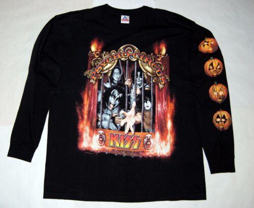 KISS Psycho Circus Halloween Dodger Stadium 1998 Concert Long Sleeve Shirt XL