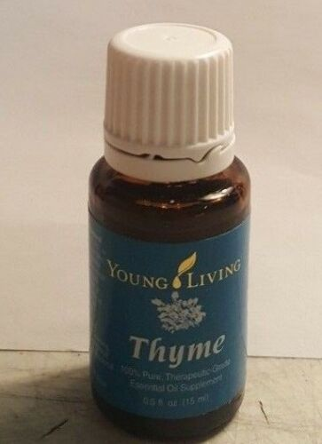 Young Living Thyme 15 Ml - 100% Pure Oil- New and Seal - Free shipping