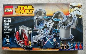 LEGO-Star-Wars-Rare-75093-Death-Star-Final-Duel-New-amp-Sealed