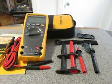 Fluke 1791ac2 Rugged Multimeter And Non Contact Voltage Detector Combo Kit New