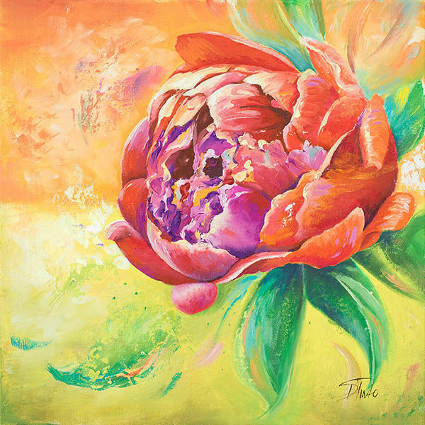 Patricia Patricia Patricia Pinto: Beautiful Bouquet of Peonies II Châssis-Image Toile Fleurs eecaac