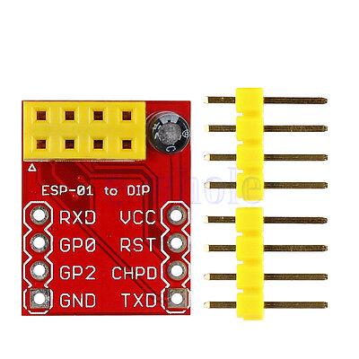 ESP8266 ESP-01  Serial  Wi-Fi Breadboard Adapter Module for Arduino WT