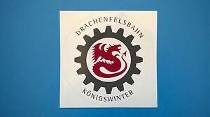 Drachenfelsbahn in Königswinter -Aufkleber- - Essen, Deutschland - Drachenfelsbahn in Königswinter -Aufkleber- - Essen, Deutschland