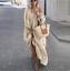 thumbnail 12 - Womens Oversize Long Sleeves Sloping Off Shoulder Loose Maxi Dress Fashion Plus