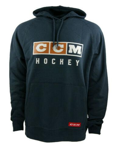 CCM Hockey Classic Fleece Hoody Senior//Adult-French Navy