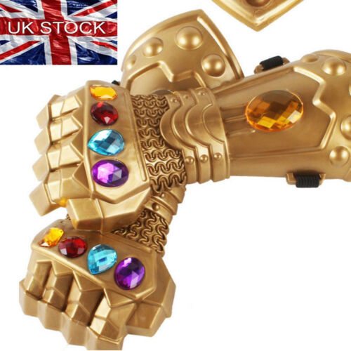 New Thanos Infinity Gauntlet Glove Cosplay Infinity War The Avenge Prop Gift TQ
