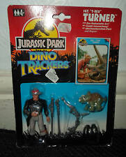 JURASSIC PARK  VINTAGE FIGURE TURNER T Rex 1993 carded dino trackers