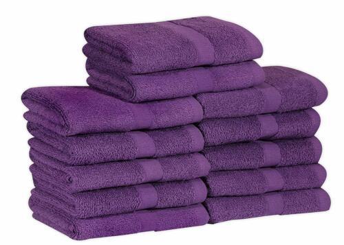 "Soft Absorbent Quick Dry 12-Pack,16/""x27/"" GOLD TEXTILES Cotton Salon Towels"