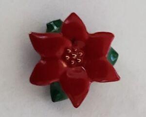 Origami Owl Poinsettia Flower Christmas In July Winter Charm Ebay