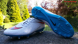 Nike-Mens-Hypervenom-Phelon-FG-Football-Soccer-Stud-Boots-Shoes-White-Blue-BNIB