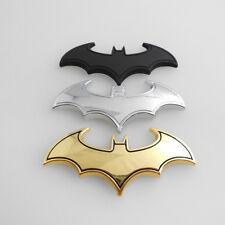 Chrome Metal Badge Emblem Batman 3D Tail Decals Auto Car Motorcycle Logo Sticker