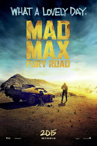 Fury Road Movie 2015 Tom Hardy Decor Wall Print POSTER 72853 Mad Max